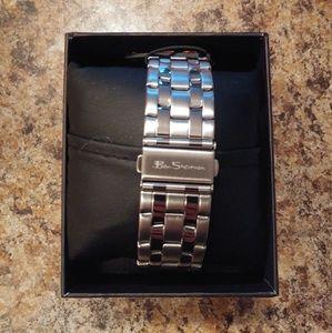 Ben Sherman Accessories - BEN SHERMAN Men's Silvertone Watch